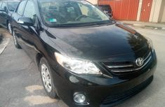 Used Toyota Corolla Foreign Used  2010 Model Black