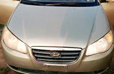 Hyundai Elantra 2008 Model Nigeria Used Gold