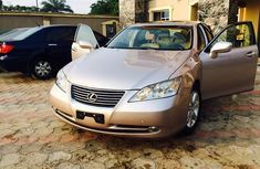 Lexus ES 350 2008 Model Foreign Used Gold