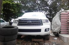 Toyota Sequoia 2015 Model Foreign Used White for Sale
