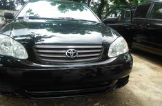 Used Toyota corolla Foreign 2003 Model Black for Sale