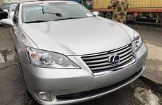 Lexus ES 350 2011 Model Foreign Used Silver