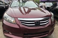 Honda Accord 2009 Model Foreign Used Red