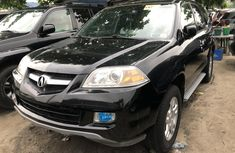 Acura MDX 2006 Model Foreign Used Black for Sale