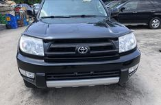 Toyota 4Runner 2005 Model Foreign Used Black for Sale
