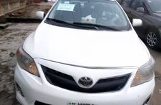 Nigeria Used Toyota Corolla 2013 Model White for Sale