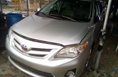 Used Toyota Corolla Foreign 2011 Model Silver for Sale