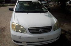 Used Toyota Corolla Foreign 2004 Model White for Sale