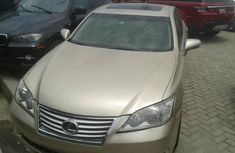 Lexus ES 350 Foreign Used Automatic 2010 Model Gold