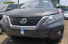Lexus RX 350 2010 Model Foreign Used Grey for Sale