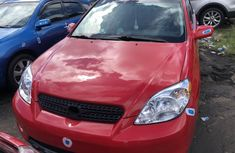 Toyota Matrix 2005 Model Foreign Used Red
