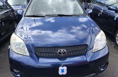 Toyota Matrix 2006 Model Foreign Used Blue for Sale