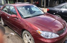 Used Toyota Camry Foreign XLE 2005 Model Red