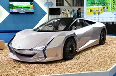 Japan introduces Nano Cellulose concept car made from Plants and Recycled agricultural waste