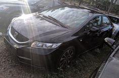 Nigeria Used Honda Civic 2013 Model Black