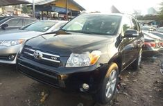 Tokunbo Toyota RAV4 2007 Model Black