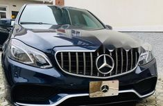 Nigeria Used Mercedes-Benz E350 2011 Model Blue