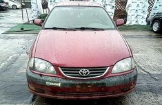 Nigeria Used Toyota Avensis 1999 Model Red