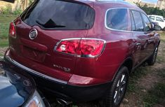 Foreign Used Buick Enclave 2010 Model Red