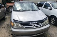 Toyota Sienna 2001 Model Foreign Used Silver for Sale
