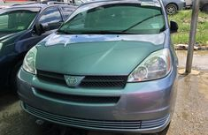 Toyota Sienna 2005 Model Foreign Used Blue for Sale