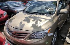 Used Toyota Corolla Foreign 2012 Model Gold for Sale