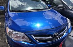 Used Toyota Corolla Foreign 2011 Model Blue for Sale