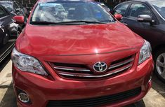 Used Toyota Corolla Foreign 2012 Model Red for Sale