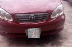 Used Toyota Corolla Nigeria Sport 2004 Model Red