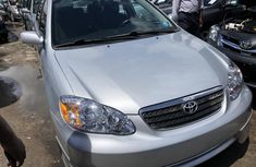 Used Toyota Corolla Foreign Sport Edition 2006 Model Silver