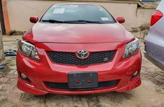 Used Toyota Corolla Foreign Sport Edition 2010 Model Red