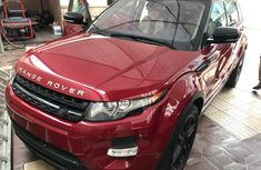 Land Rover Range Rover Evogue Foreign Used 2014 Model Red