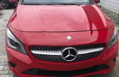 Mercedes Benz CLA250 2014 Model Foreign Used Red