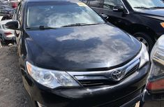 Foreign Used Toyota Camry XLE 2014 Model Black Colour