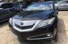 Acura ZDX 2011 Model Foreign Used Black for Sale