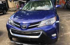 Toyota RAV4 2015 Model Foreign Used Limited Edition Blue