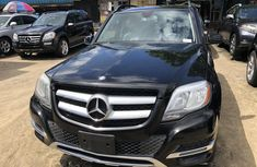 Mercedes Benz GLK 350 4MATIC Foreign Used 2014 Model Black