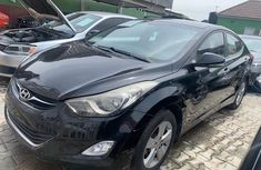 Hyundai Elantra 2013 Model Nigeria Used Black