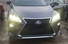 Lexus RX 350 2016 Model Foreign Used Sport Grey