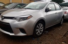 Used Toyota Corolla LE Foreign 2016 Model Silver