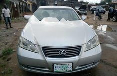 Nigeria Used Lexus ES 2008 Model Silver