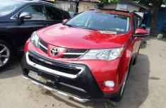 Tokunbo Toyota RAV4 2014 Model Red
