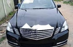 Tokunbo Mercedes-Benz E350 2011 Model Black