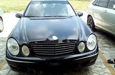 Nigerian Used 2003 Mercedes-Benz E320 for sale
