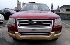 Nigeria Used Ford Explorer 2008 Model Red