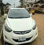 Nigeria Used Hyundai Elantra 2012 Model White