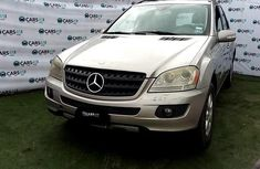 Nigeria Used Mercedes-Benz ML350 2006 Model Silver