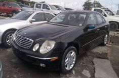 Tokunbo Mercedes-Benz C280 2005 Model Black
