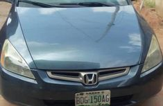 Nigeria Used Honda Accord 2003 Model Blue