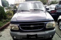 Nigeria Used Ford Explorer 1999 Model Blue